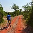 Pyöräilyä Keoladeo National Parkissa
