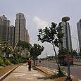 Katunäkymää Jakarta