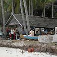 Paikallista elämää Pantai Timur Sulawesi
