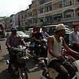 Liikennettä Phnom Penh