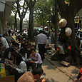 Lunch break, Hanoi