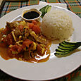 Fride rice and beef