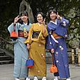 Tytöt kimonoissa, Kyoto