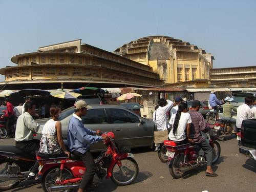 Psar thmei Central market Phnom Penh