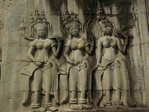 Yksityiskohtaa Angkor Wat