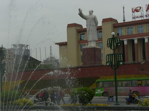 Mao`s Statue, Chengdu