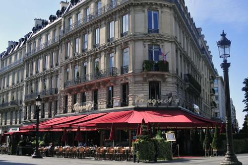 Katukahviloita, Paris