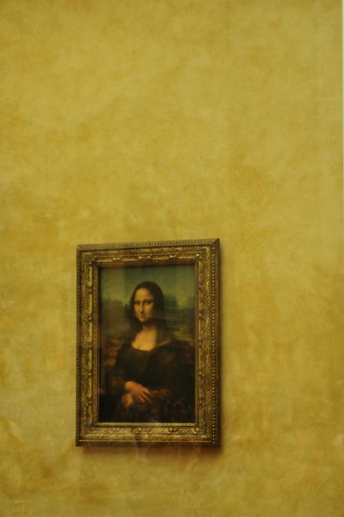 Mona Lisa lasikaapissa