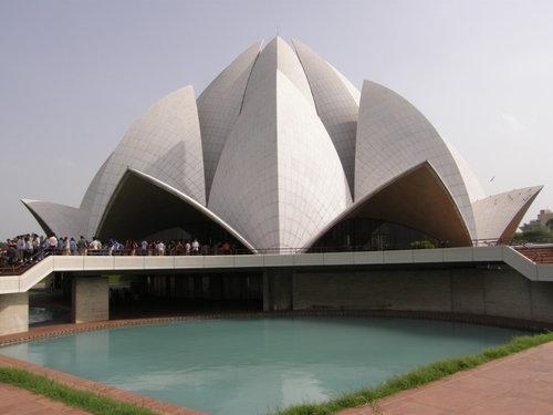 Lootus Temppeli Delhi