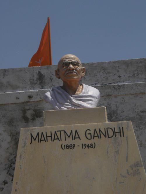 Mahatma Gandhi patsas Diu