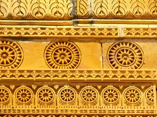 Yksityiskohtaa Jaisalmer fortissa