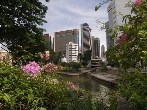 Mutaisten jokien kohtaamispaikka Kuala Lu