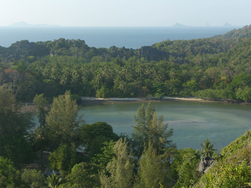 Näkymää kukkulalta Tarutao
