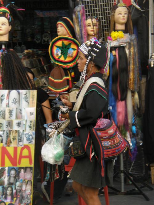 Thai woman khaosan road