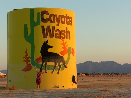 Coyote wash, Wellton