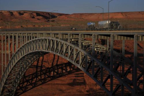 Glenn Canyon Bridge, Page