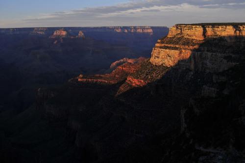 Ilta-aurinko, Grand Canyon