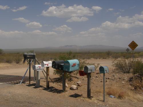 Mailbox, Ajo, AZ