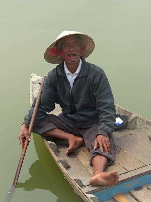 Vanha soutaja, Hoi An