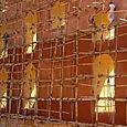 Jantar Mantar ja rakennustelineet