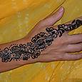 Toven henna tatuointi
