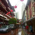 Katunäkymää Chinatown Singapore