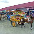 Paikallisia kulkuneuvoja Ampana