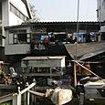 Koti joen varrella Bangkok
