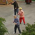 Aamuvoimistelua puistossa, Kunming