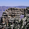 Angels window, North Rim, Grand Canyon