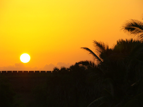 Auringonlasku Diussa