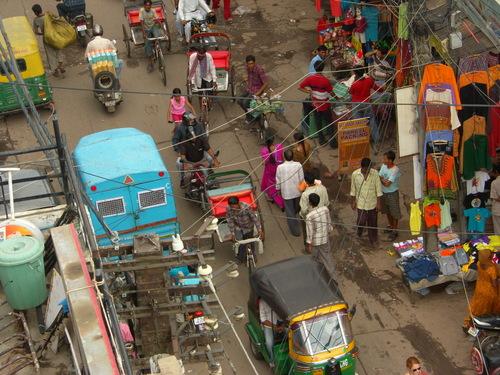 Bazaar katua Delhissä