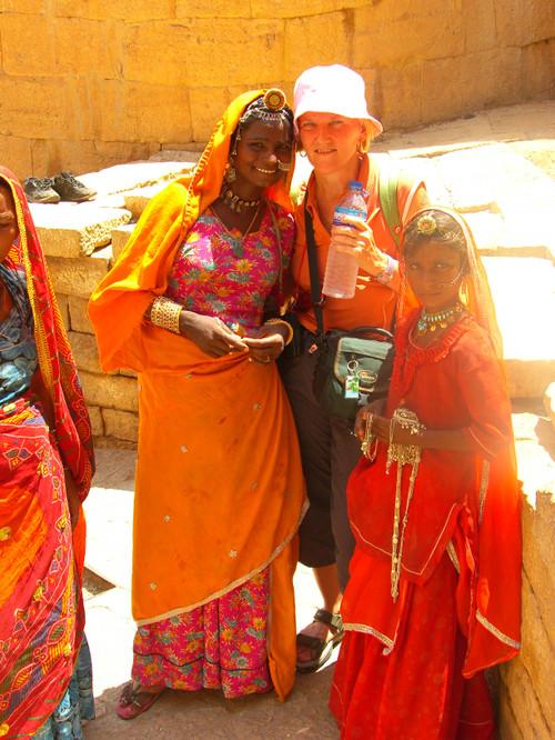 Tove ja korumyyjät Jaisalmer