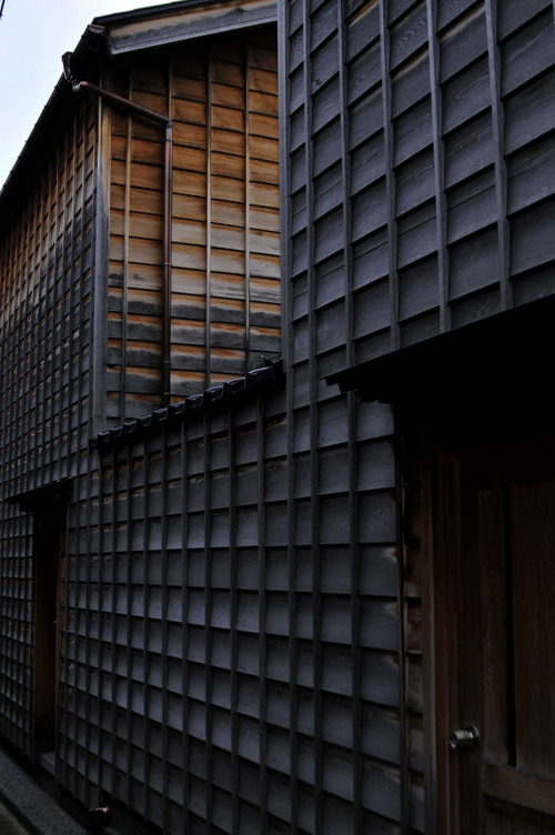 Puuseinää, Kanazawa