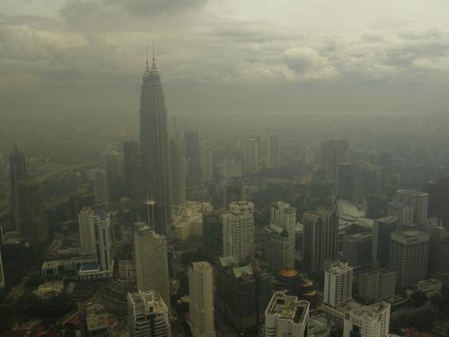 Kuala Lumpur menara tornista nahtyna